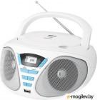 BBK BX180U белый/голубой 2Вт/CD/CDRW/MP3/FM(dig)/USB