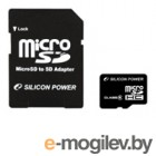 Silicon Power micro SDHC Card 32GB Class 6