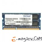 Patriot DDR3-1333 4GB PC-10660 SODIMM