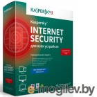 Kaspersky Internet Security Multi-Device Russian Ed. 3-Device 1 year Renewal Card (KL1941ROCFR)