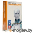 �� ESET NOD32 Smart Security - �������� �� 1��� �� 3�� (NOD32-ESS-1220(BOX)-1-1)