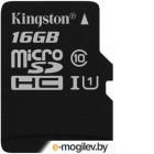 Карта памяти Kingston microSDHC UHS-I (Class 10) 16GB (SDC10G2/16GBSP)