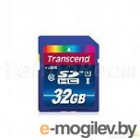 Карты памяти. Secure Digital (SDHC) 32GB Transcend [TS32GSDU1] Class 10
