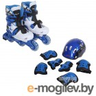 раздвижные коньки Onlitop Blue-Black 34-37 1231418