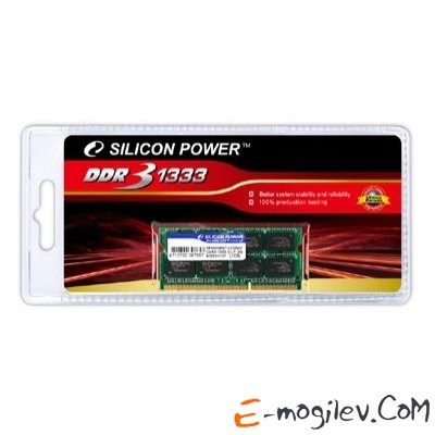 Silicon Power DDR3-1333 2048 Mb PC-10660 SODIMM