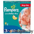 Pampers Active Baby-Dry Midi 4-9кг 150шт 4015400265207