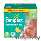 Pampers Active Baby-Dry Midi 5-9кг 126шт 4015400737230