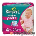 Pampers Active Girl Maxi 9-14кг 23шт PA-81407322