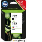 HP 122 Black + 122 Tri-colour CR340HE