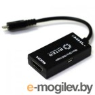 5bites microUSB BM to HDMI/F  microUSB/BF UA-HHFM-MHL