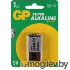 батарейки  КРОНА GP Super Alkaline 1604А 6LF22-BC1
