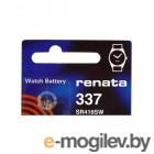 батарейки R337 - Renata SR416SW 1 штука