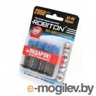 Robiton 2850 mAh 2850MHAA-4/box BL4 4 штуки