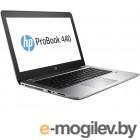 HP Probook 440 G4  UMA i5-7200U 440 / 14 FHD AG SVA HD / 8GB 1D DDR4 / 128GB | 1TB 5400 / W10p64 / 1yw / Clickpad / Intel AC 2x2 nvP +BT 4.2 / FPR