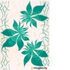 Декоративная плитка для ванной Березакерамика Магия фантазия зеленый 250x350