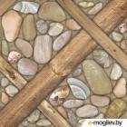 Плитка для пола Belani Аризона коричневая 418x418