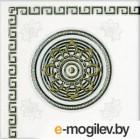 Декоративная плитка М-Квадрат Цезарь 742501 152x152, белый