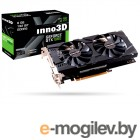 Inno3D GeForce GTX 1060 Twin X2  6Gb <PCI-E> N106F-5SDN-N5GS GTX1060, GDDR5, 192bit, HDCP, 2*DVI, HDMI, DP, Retail