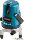 BORT BLN-15-K Лазерный уровень Диаметр рабочей зоны 15 м, Мощность излучения 5, Звуковое оповещение, Вес брутто 1,73 кг, Регулировка яркости подсветки, Габариты упаковки 20x14x21 см, Диапазон нивелирования 4, Тип лазера class II, Количество батарей 2 шт,