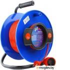 Удлинитель на катушке Power Cube PC-B1-K-50, 1 розетка без заземления, 50м, 10А/2.2кВт