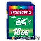 Transcend SDHC Card 16Gb TS16GSDHC4