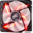 Вентилятор DEEPCOOL Wind Blade RED 120x120x25мм (64шт./кор, пит. от мат.платы и БП, полупрозрачный, красная подсветка, 1300об/мин) Retail blister