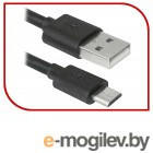 Defender USB кабель USB08-10BH USB2.0 черный, AM-MicroBM, 3м (87469)