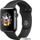 APPLE Watch Series 2 38mm Black Space with Black Sport Band MP492RU/A