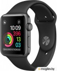 APPLE Watch 42mm Space Grey Aluminium Case with Black Sport Band MP032RU/A