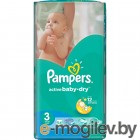 Pampers Active Baby-Dry Midi 5-9кг 54шт 4015400649687