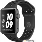 APPLE Watch Nike 38mm Space Grey Aluminium Case with Anthracite-Black Nike Sport Band MQ162RU/A
