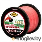 Леска для триммера DDE Hard Line 2.4mm x 180m Grey-Red 241-949