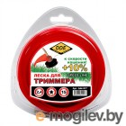 Леска для триммера DDE Speed Line 2.4mm x 15m Red 644-917