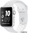 APPLE Watch Nike 42mm Silver Aluminium Case with Platinum-White Nike Sport Band MQ192RU/A