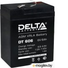 Батарея Delta DT 606 (6 Ач, 6В) свинцово- кислотный аккумулятор