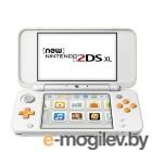 Nintendo 2DS XL White-Orange ConNd2D10