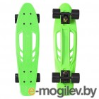 Y-SCOO Skateboard Fishbone 22 Green-Black 405-G