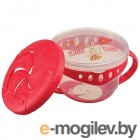 Happy Baby Comfy Plate Red 15021