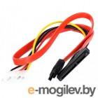 VCOM Slim SATA (VHC7702), SATA данные+питание 7+15 pin , 0.45м