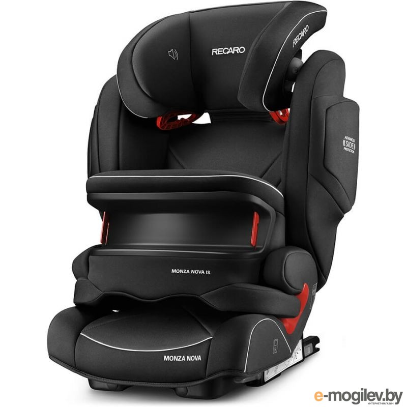 Recaro Monza Nova is Seatfix Perfomance Black 6148.21534.66