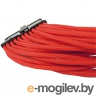 GELID 24-pin ATX, 30см, индивидуальная оплетка, красный CA-24P-04
