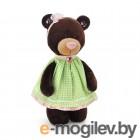Orange Toys Milk Медведь в платье в клеточку 30cm M5051/30