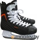 Коньки хоккейные Sundays PW-206G 43, черный/оранжевый