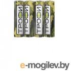 Батарейка Трофи R6-4S Классика (60/1200/28800) (4шт в уп-ке)