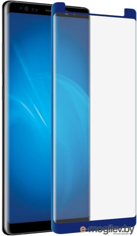 для Samsung Закаленное стекло Samsung Galaxy Note 8 DF Fullscreen 3D sColor-26 Blue