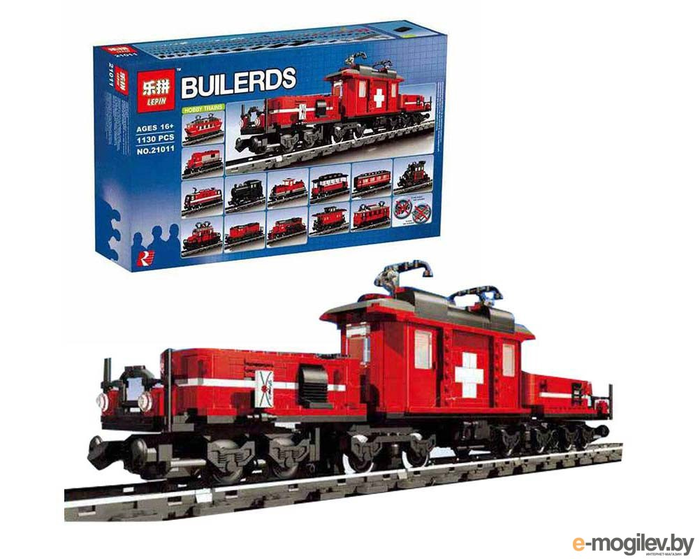 Конструкторы Lepin Bulerds Hobby Trains Set 1130 дет. 21011