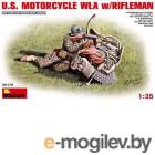 Сборные модели MiniArt Стрелок с мотоциклом 35179М