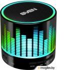 Портативная колонка Sven PS-47 (1.0) 3 Вт, FM, USB/MicroSD, Bluetooth, встроенный аккумулятор, цвет черный