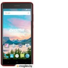 Смартфон Digma HIT Q500 3G 8Gb темно-красный моноблок 3G 2Sim 5 480x854 Android 7.0 5Mpix WiFi BT GPS GSM900/1800 GSM1900 TouchSc MP3 max1Gb