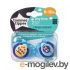 принTommee Tippee AnyTime 6-18 мес. 2шт Light Blue 43336455-1